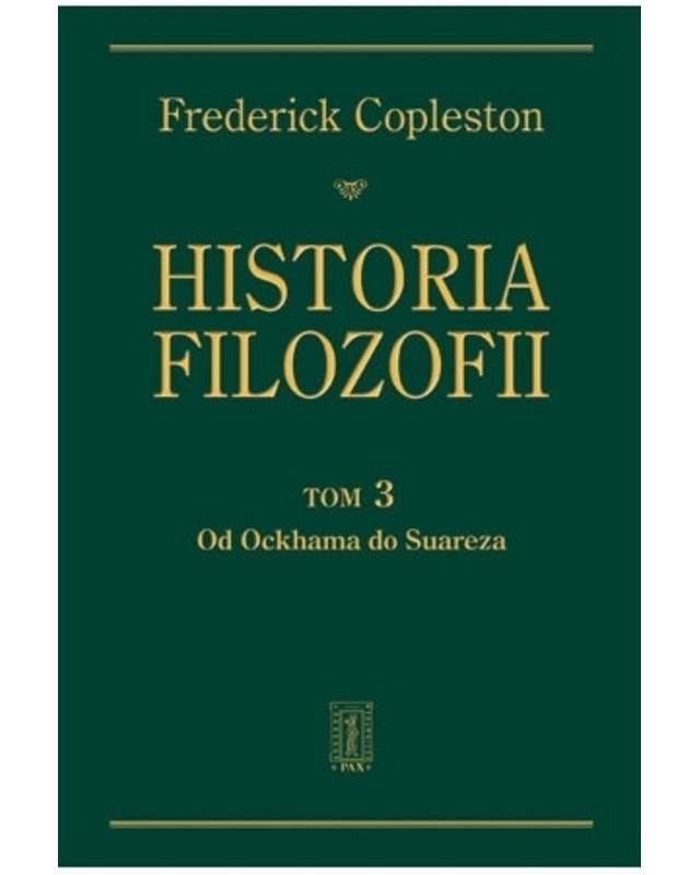 Historia filozofii. Tom III